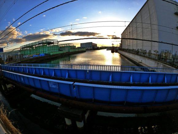 大川橋から見た景色