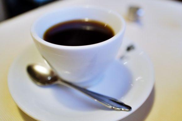 マスターが淹れてくれたコーヒー。