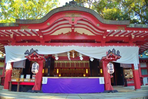 来宮神社の立派な本殿