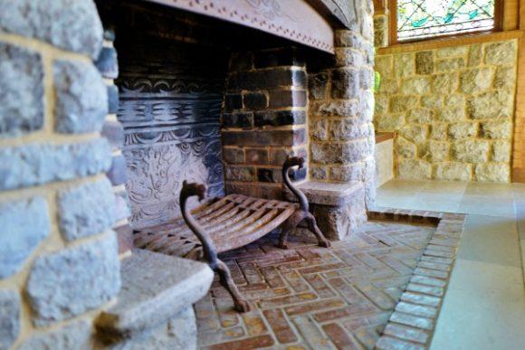 私の家にも暖炉欲しい。