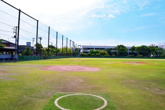 桜川公園の野球場