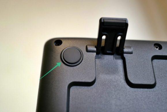 4つ端にシリコンボタンが付いているので滑りにくい。