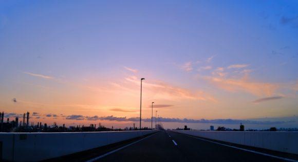 桟橋ならぬ高速道路。