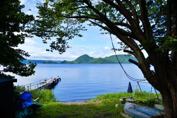 フレンドリーな湖・洞爺湖。