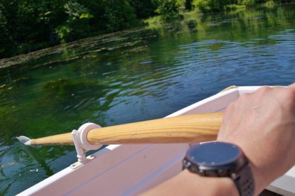 20年ぶりくらい?にボートに乗る。