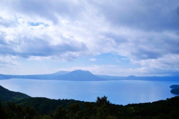 紺碧の支笏湖!