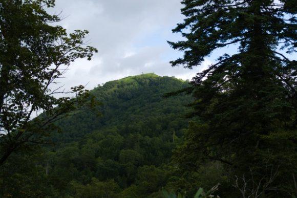 イチャンコッペ山の山頂だった(^^;