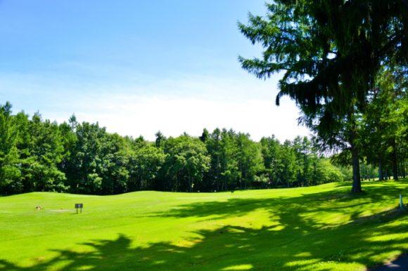 パークゴルフ場もきれいだ。