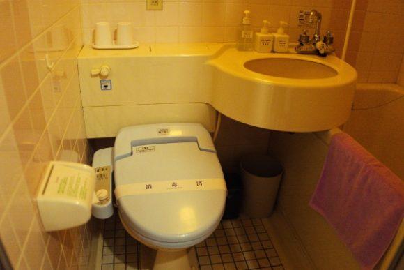 洗面所の様子。