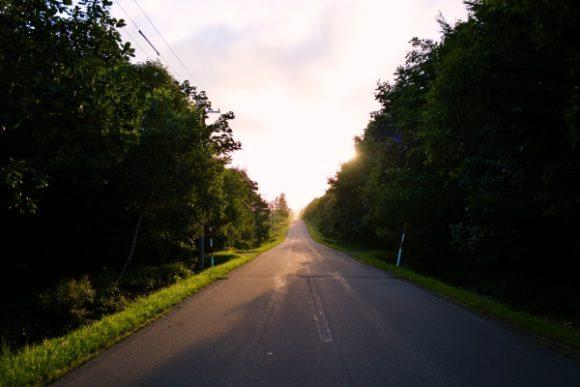 この道はどこへ続くのだろう。