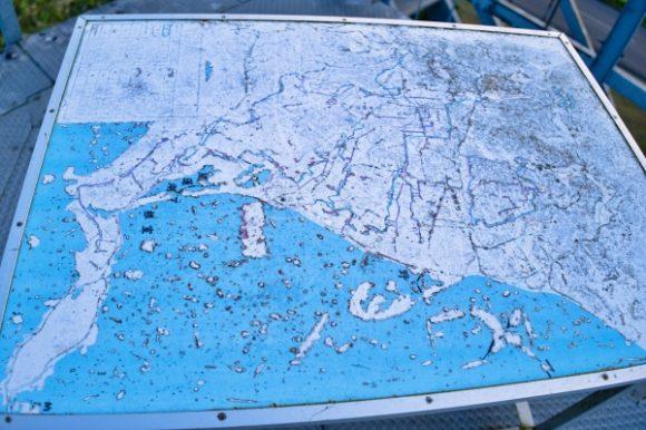 道東MAP。野付半島とかひどいな…。
