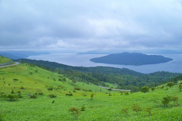 美しい緑の大地。