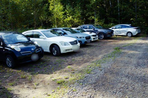 日曜日だから車が多いかな?