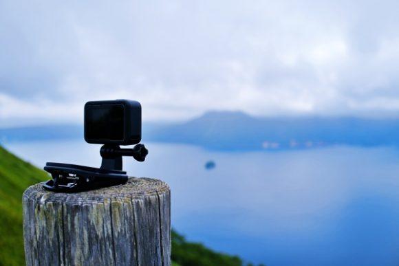 GOPROで摩周湖を撮ってみた。