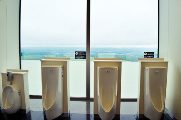 トイレ内に人がいないことを確認して撮ろうね。
