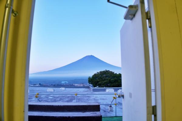 ふ、富士山!!