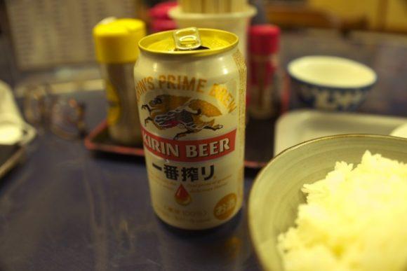 ついビール(300円)も飲んじゃったね。