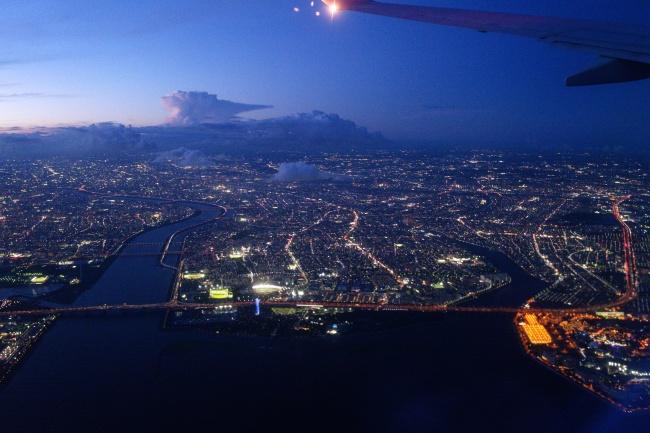 江戸川区へ 絞り値 f/3.5 露出時間1/60秒 ISO速度-12500