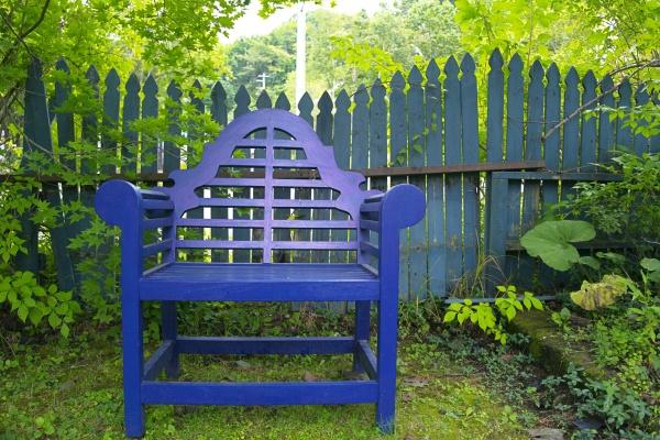 フェンスの形や配置も良い雰囲気