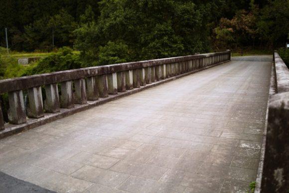 金山橋の路面の様子
