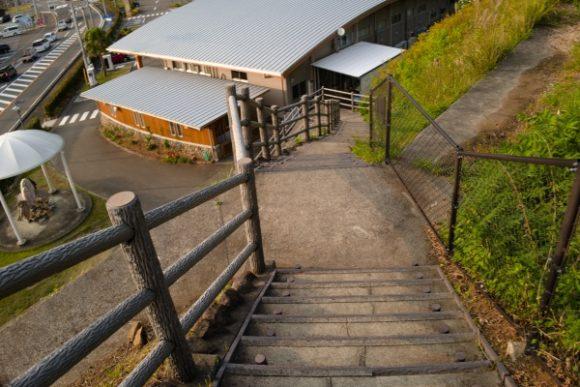 ストイックな階段です。
