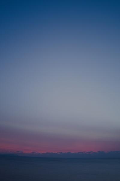 藍色の夕焼け2020