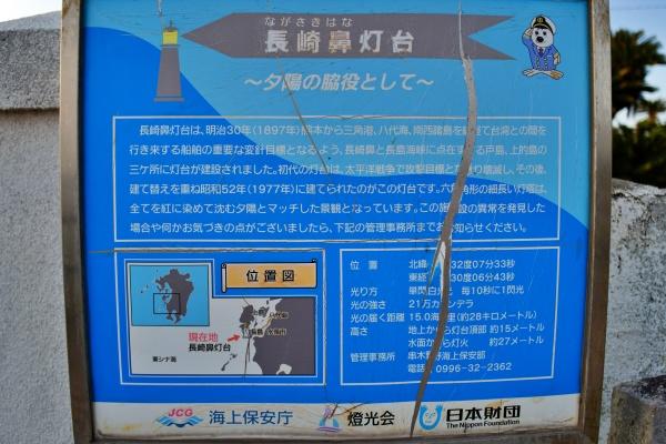 長崎鼻灯台の説明