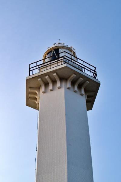 ハンサムな灯台です。海老蔵に負けてない。