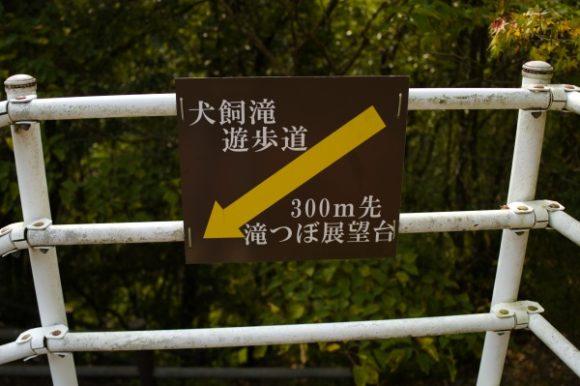 滝つぼ展望台へ下る。