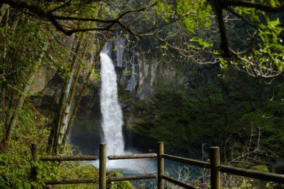 景観の良い滝つぼ展望台