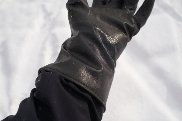 手袋のレイヤリングをしっかりすればWINTER01で十分かも。