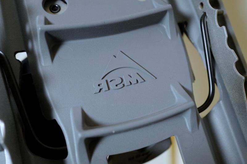 MSRは登山者に信頼されるアメリカブランドだ(裏面を撮影)。