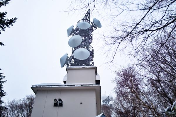 藻岩山の電波塔