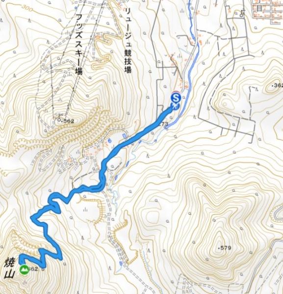 豊平山の登山コース