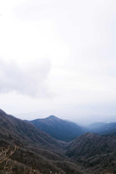 あの山は大岳(1262m)?