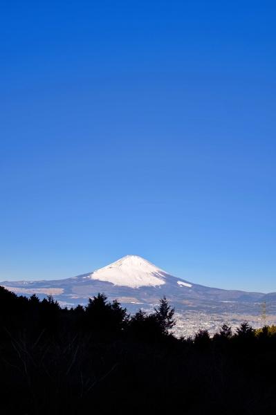 乙女峠からの富士山!