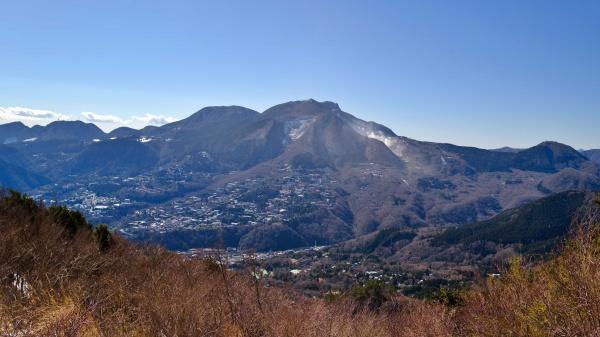 箱根山もなかなか凛々しい。