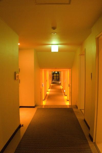 廊下は普通だね。