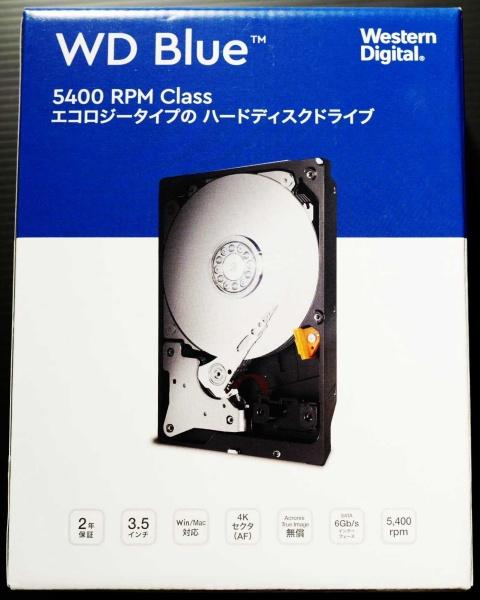 外付けHDD WD60EZAZ-EC(6TB)