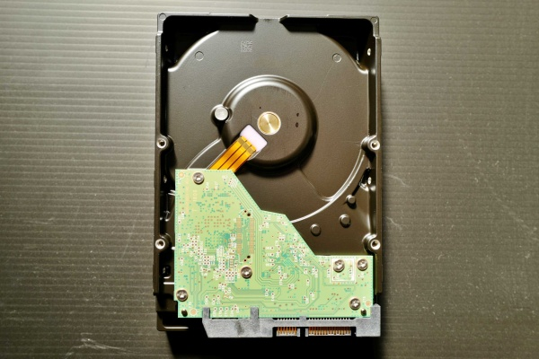 3.5インチ 内蔵HDD WD60EZAZ-EC  の裏面