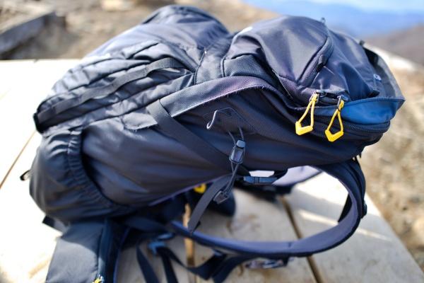 蛭ヶ岳ピストンは軽量装備で臨んだ。