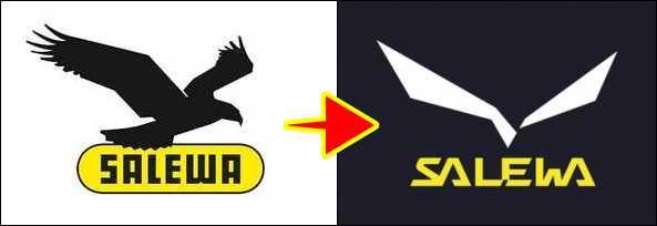 鳥マークがシンプルになった。