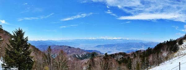 パノラマが広がる大菩薩峠