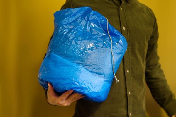 旅行におすすめなスタッフバッグ。パッキングしやすいです。