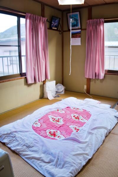 6畳ワンルームの部屋。