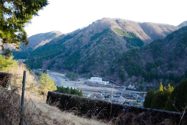 丹波山村が見えホッとする。