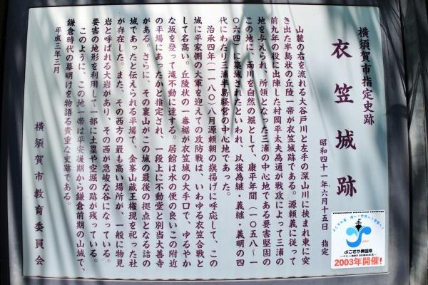 衣笠城跡の情報