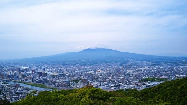 少し残念な富士山。