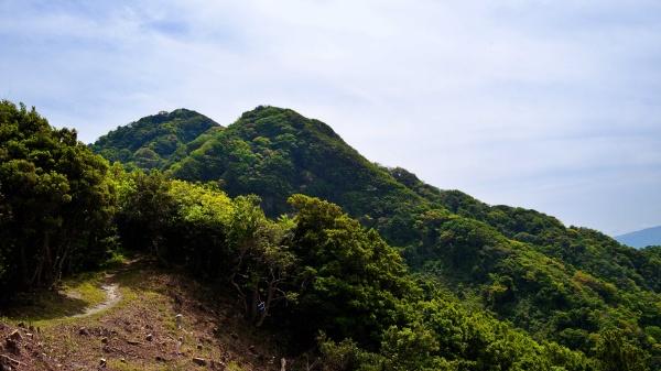 鷲頭山、小鷲頭山が見えた。