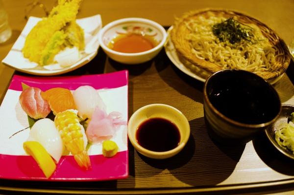 天ぷら・寿司・蕎麦!
